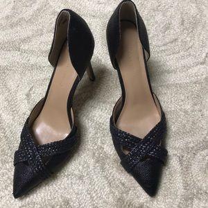 Banana republic black heels